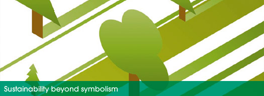 Sustainability beyond symbolism (Picture)